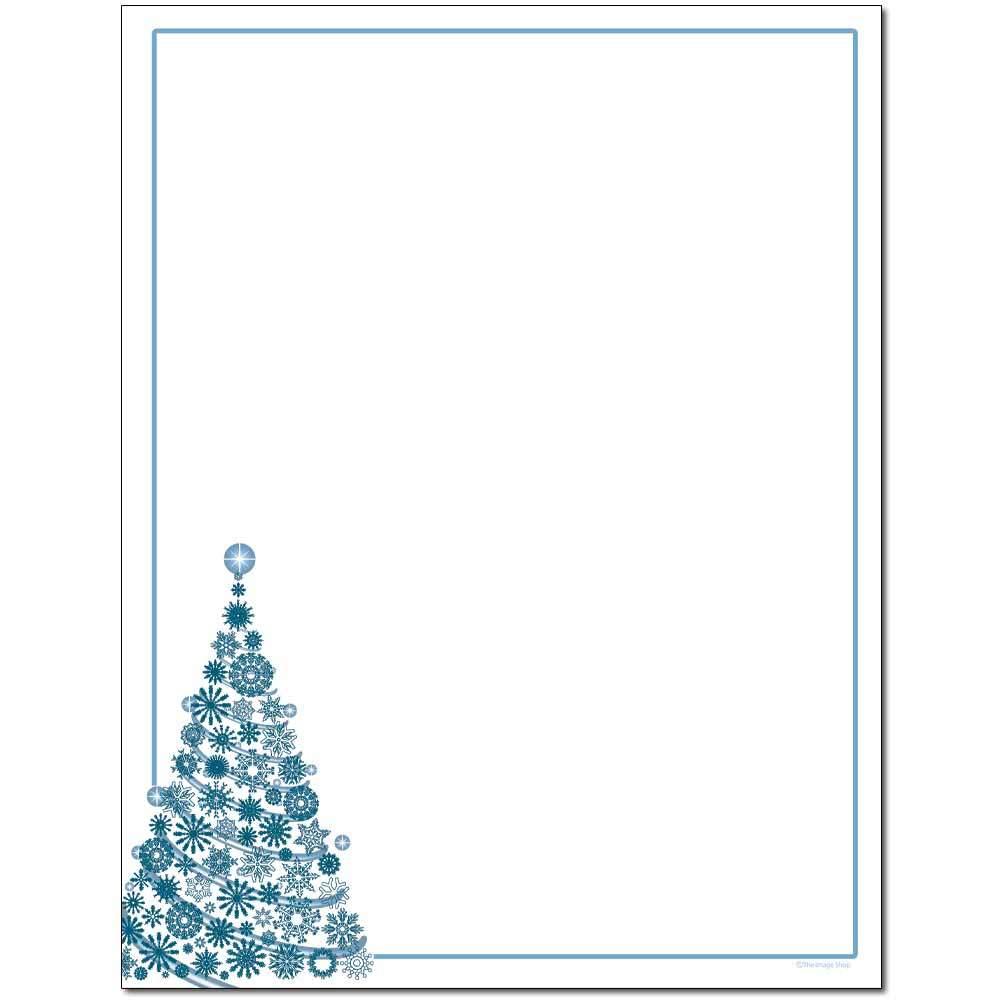 Frosty Tree Letterhead