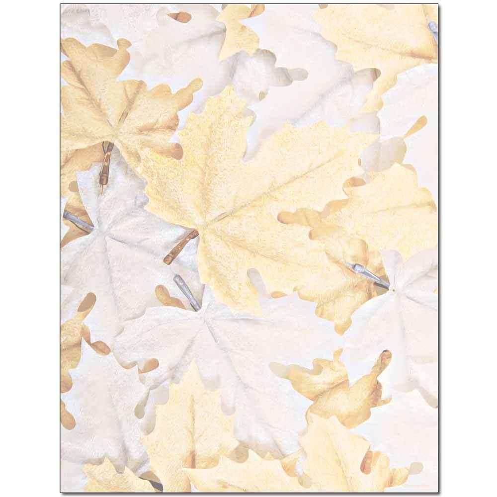 Frozen Leaves Letterhead