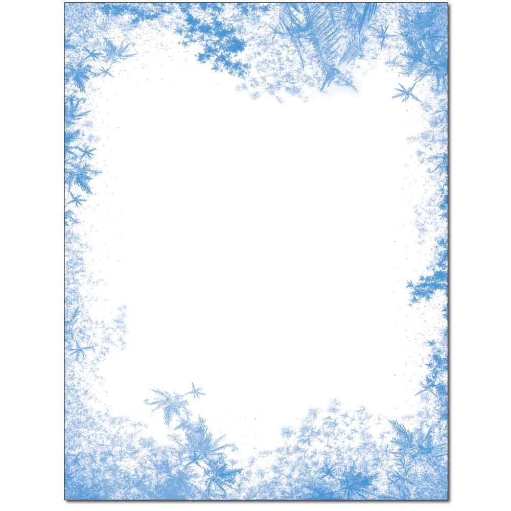 Frozen Window Letterhead