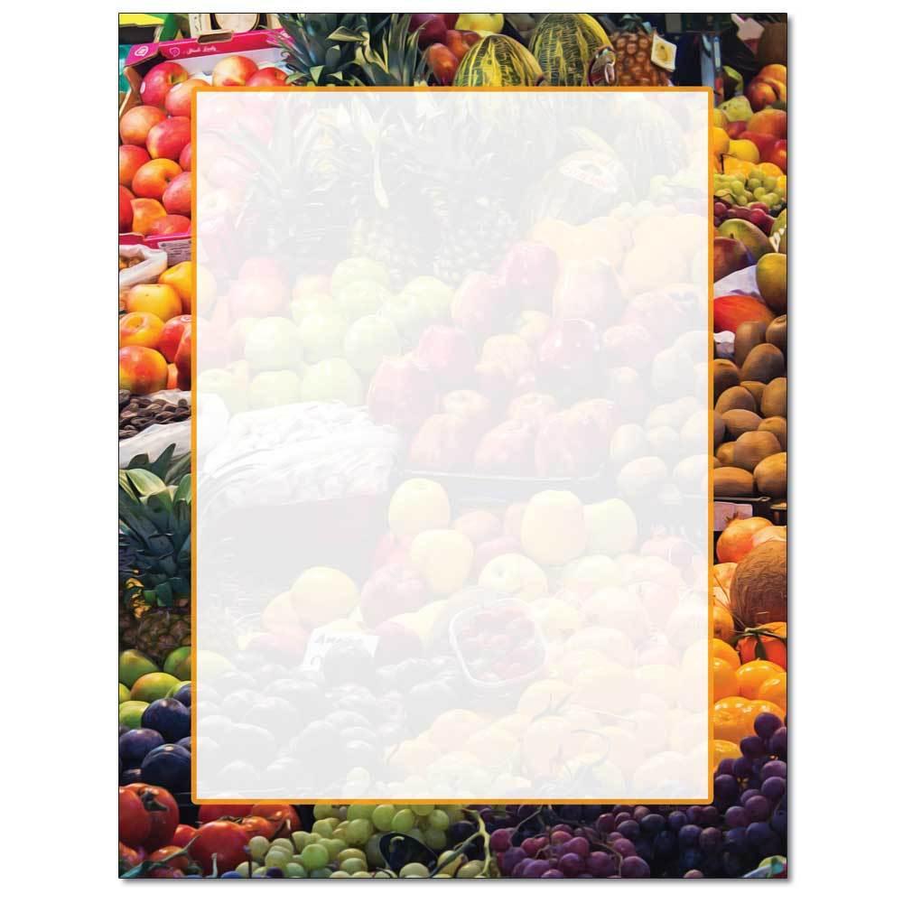 Fruit Stand Letterhead