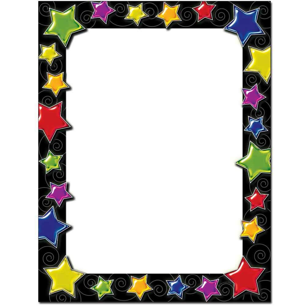Gel Stars Letterhead