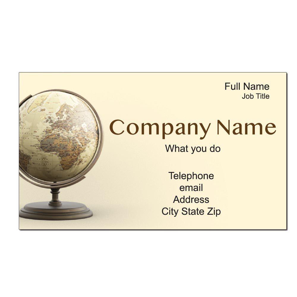 Global Custom Business Cards