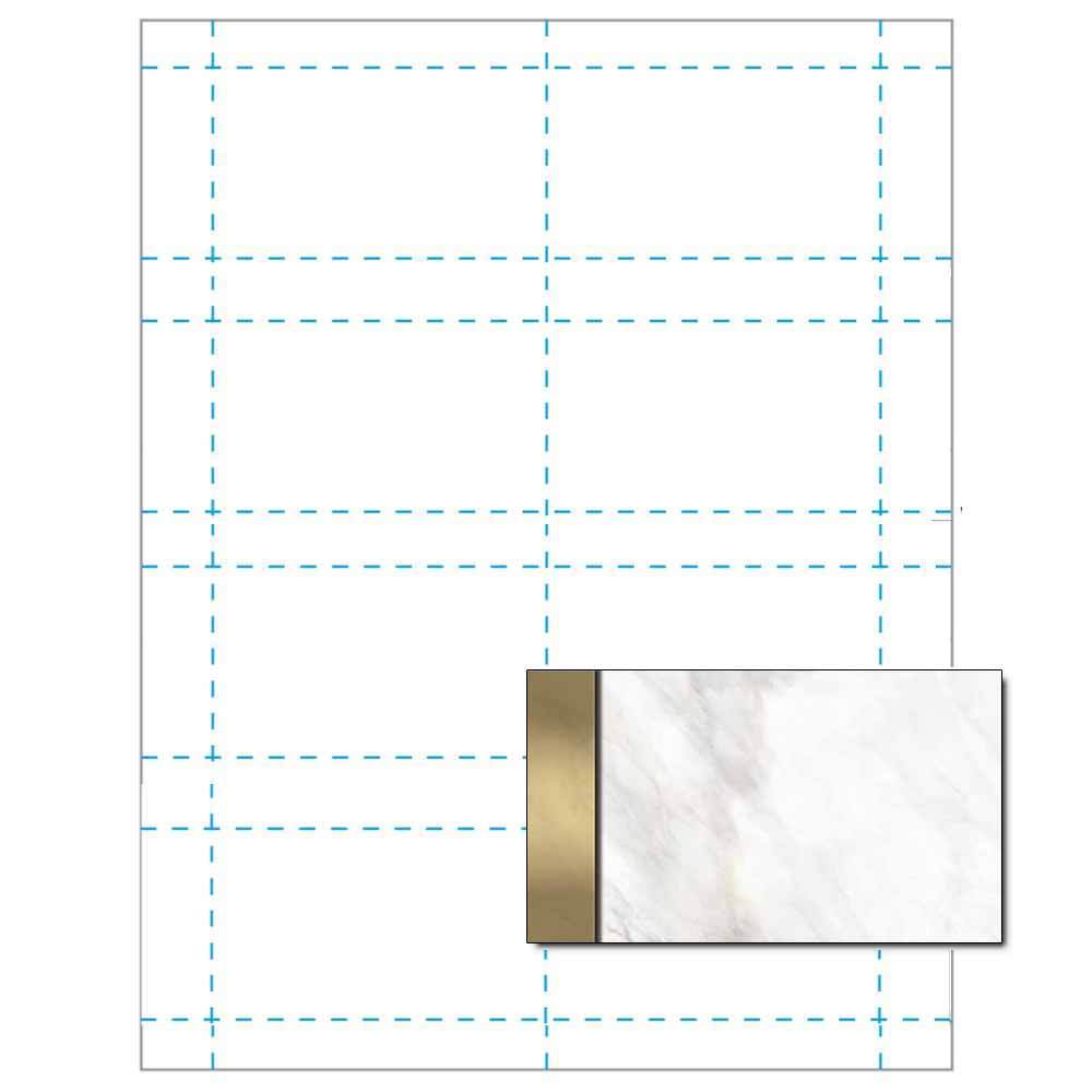 Gold Marble Business Card