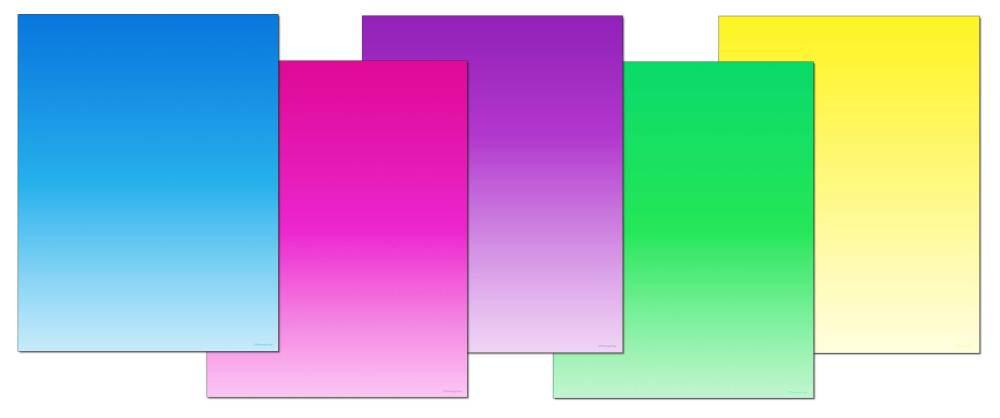 Gradient Colors Letterhead
