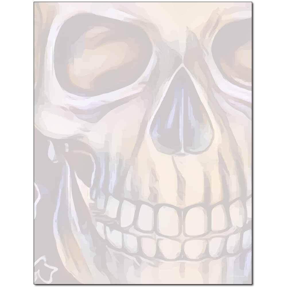 Grinning Skull Letterhead
