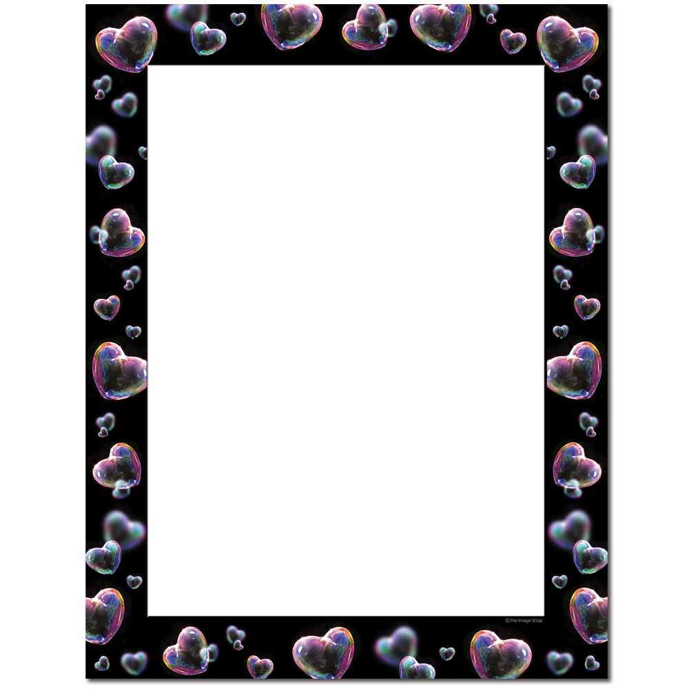 Heart Bubbles Letterhead