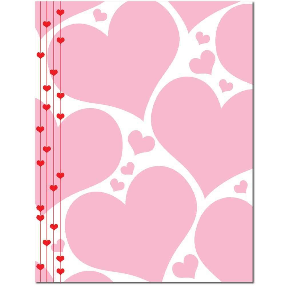 Heart Strings Letterhead