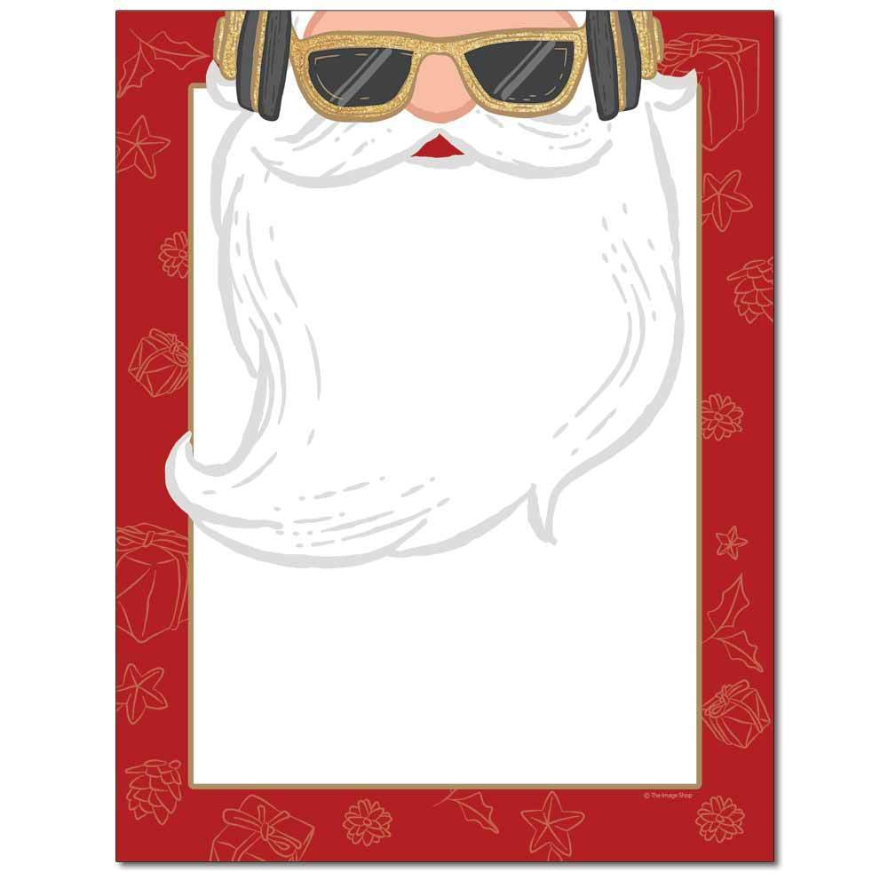 Hip Santa Letterhead