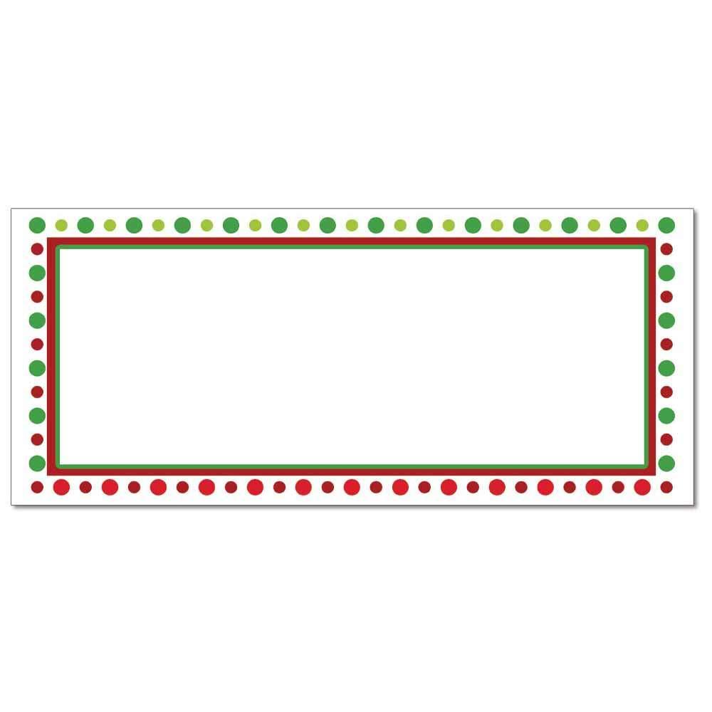 Holiday Dots Envelopes
