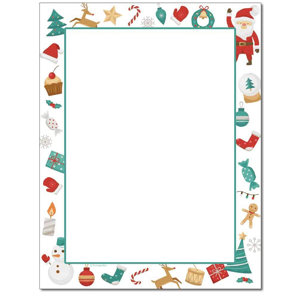 Holiday Fun Letterhead
