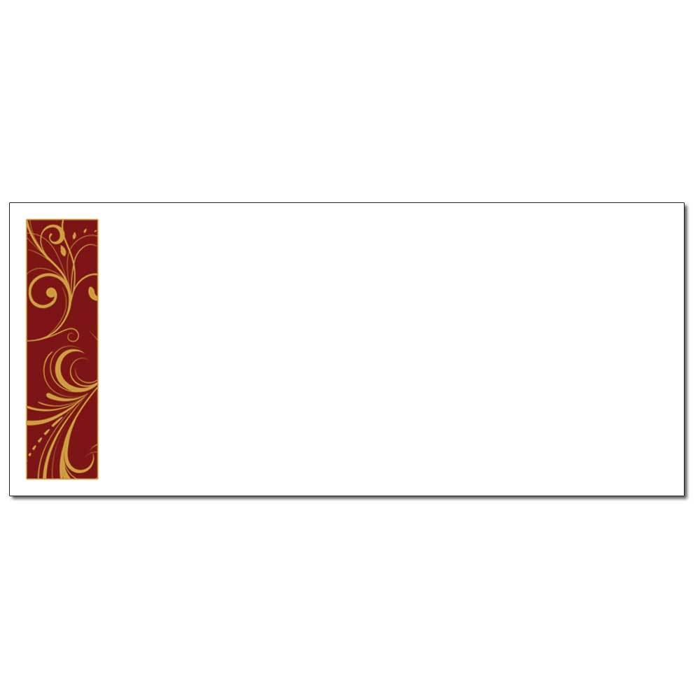 Holiday Toile Envelopes