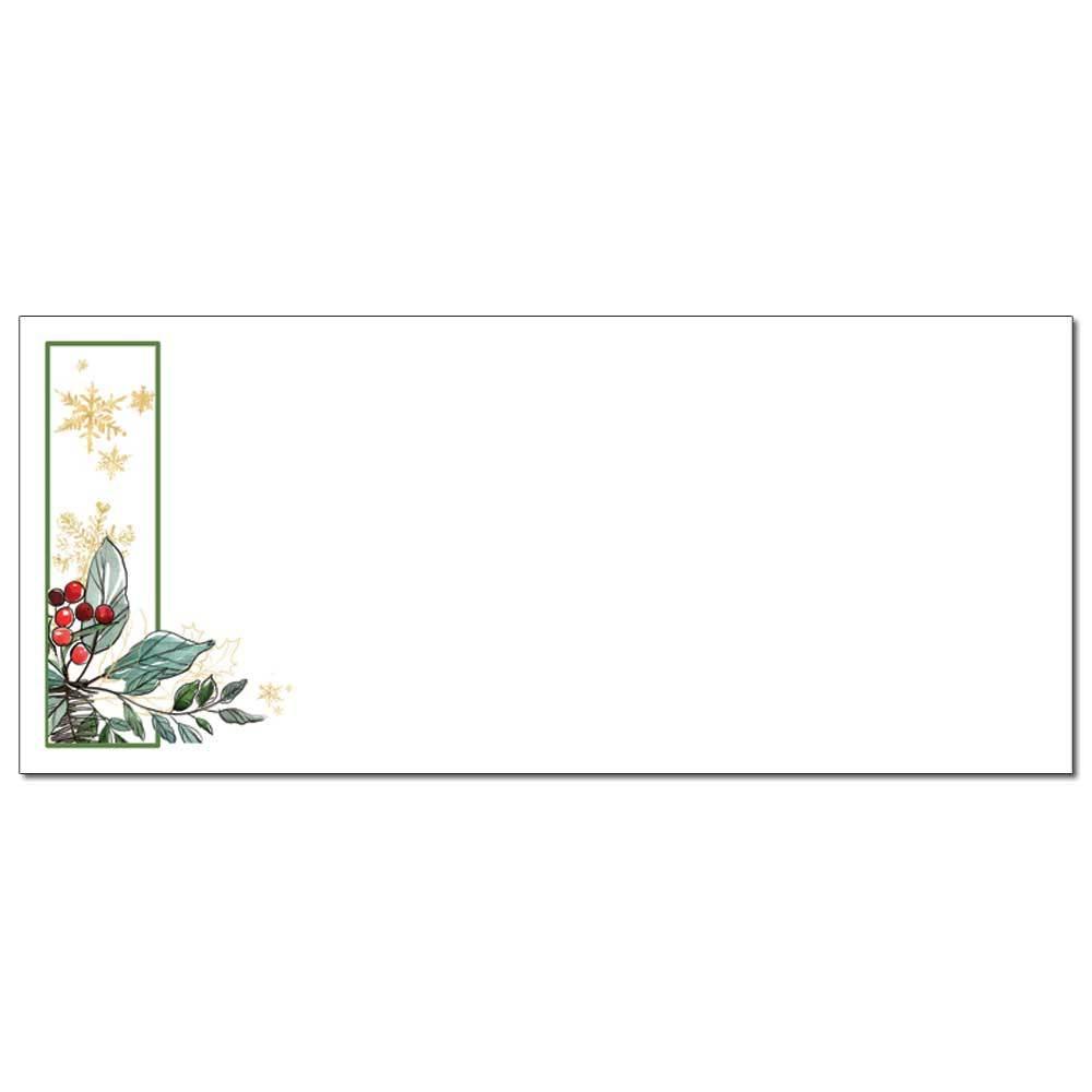 Holly Berries Envelopes