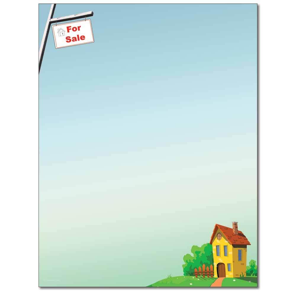 House for Sale Letterhead