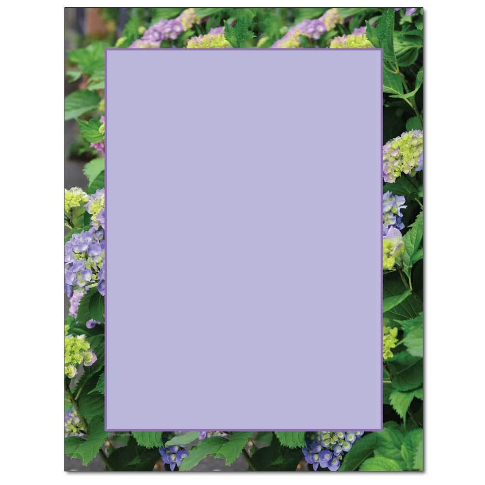 Hydrangea Bush Letterhead
