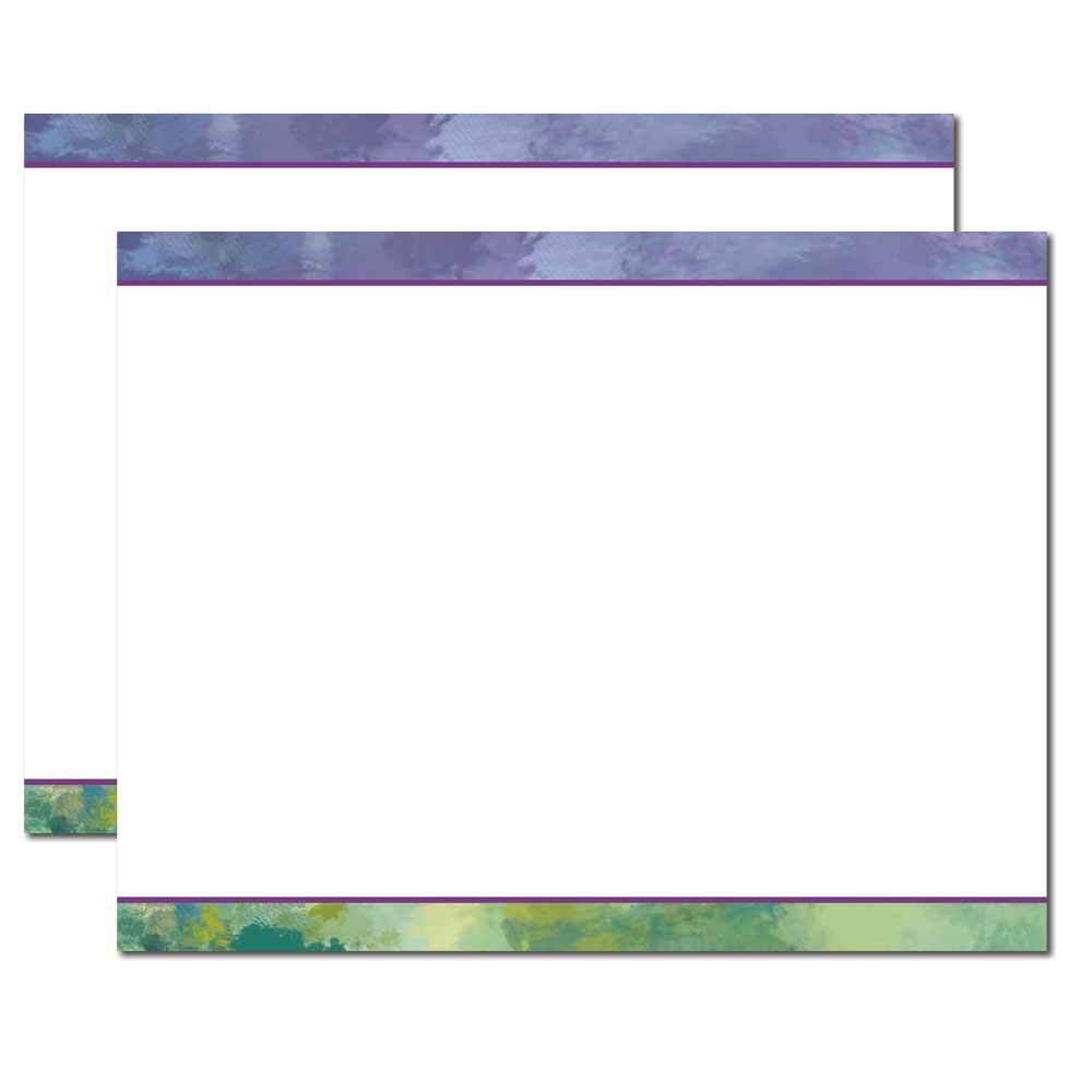 Impressionistic Trifold Brochure