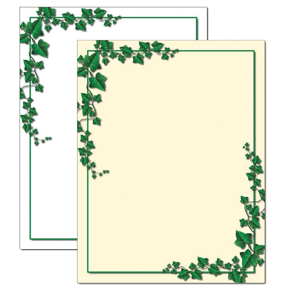 Ivy Border Letterhead