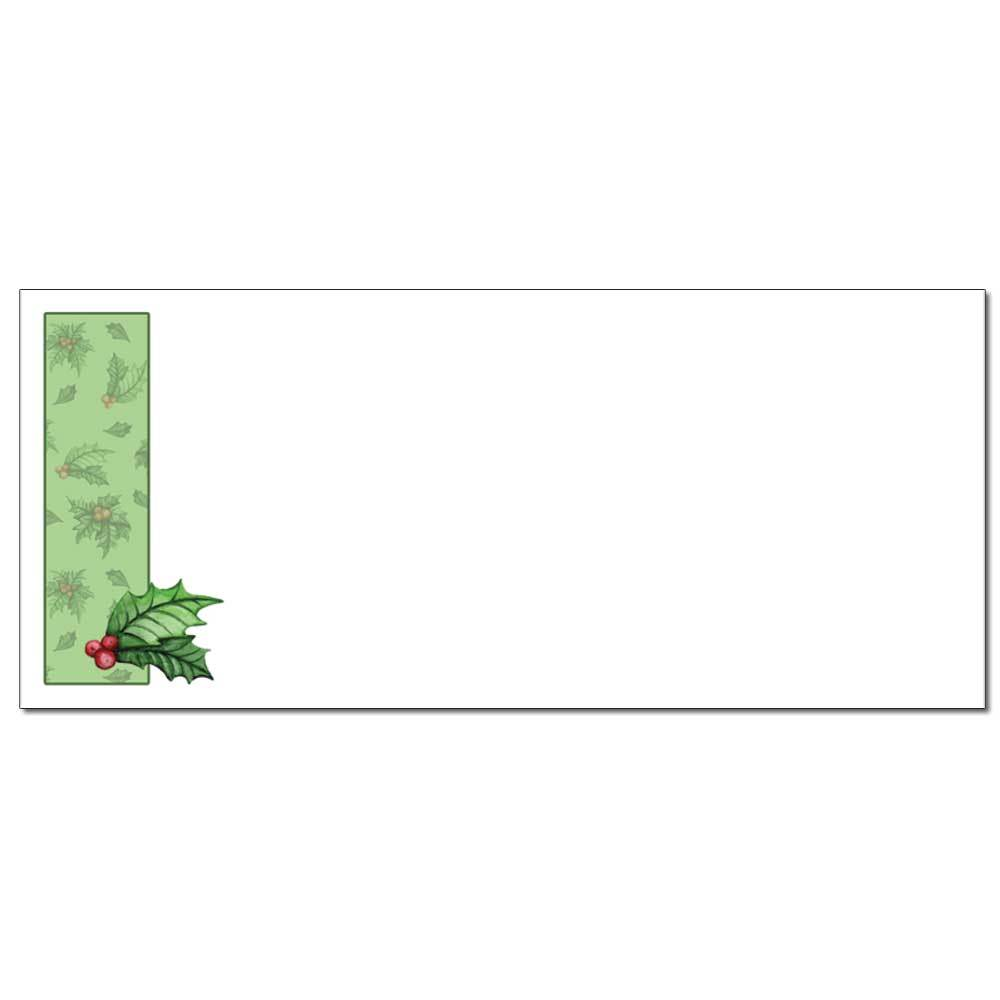 Jolly Holly Envelopes