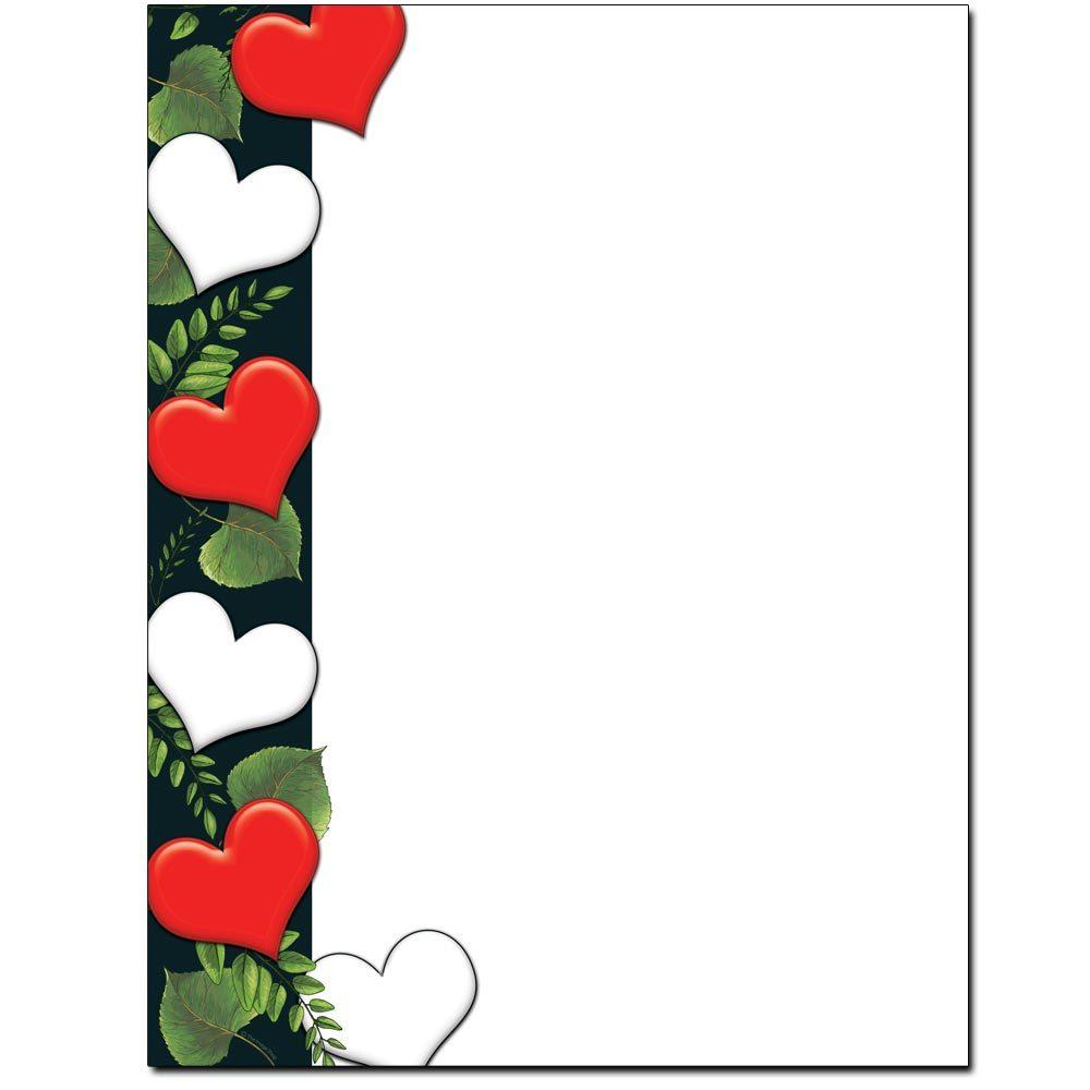 Leafy Hearts Letterhead