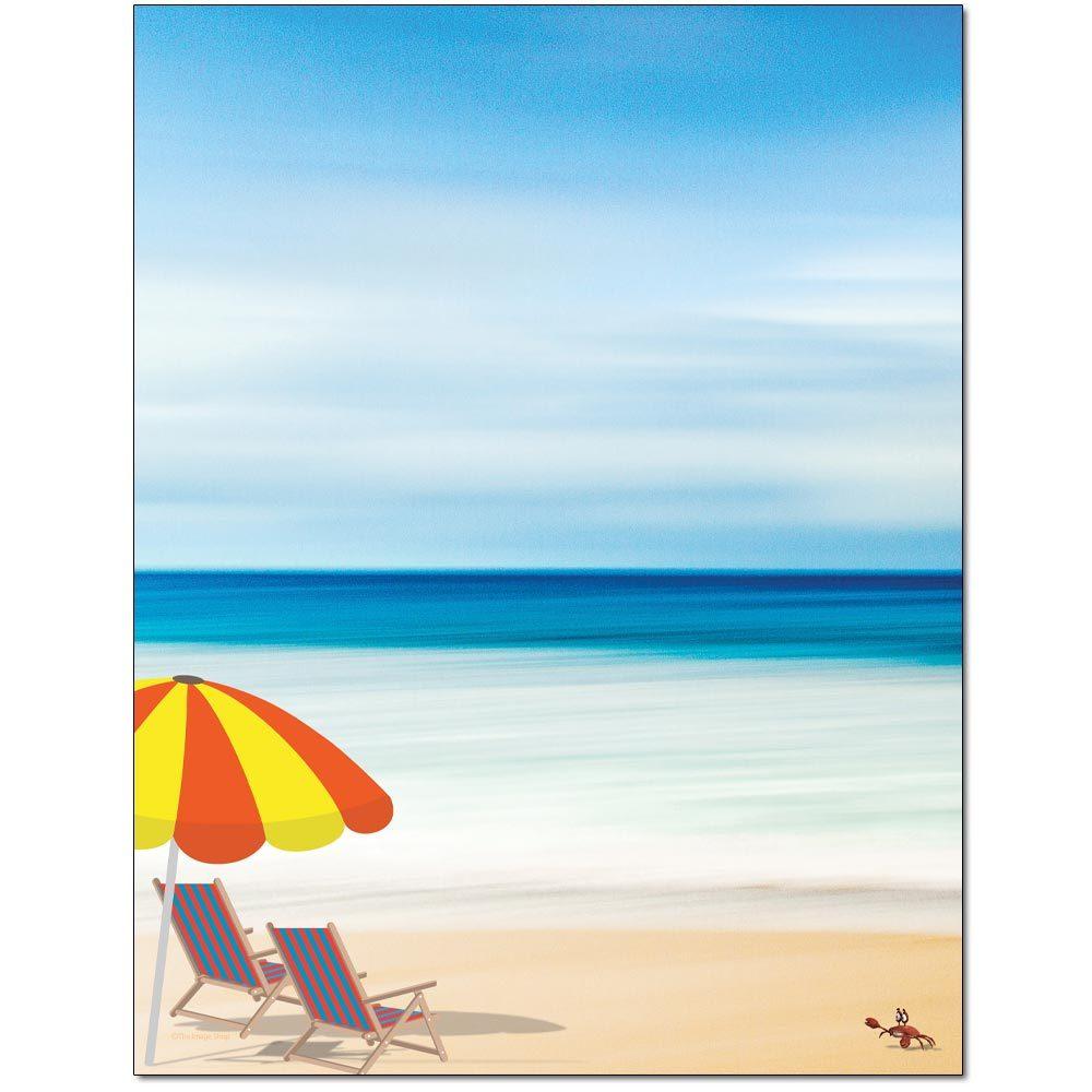 Life's A Beach Letterhead