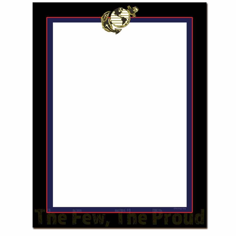 Marines Letterhead