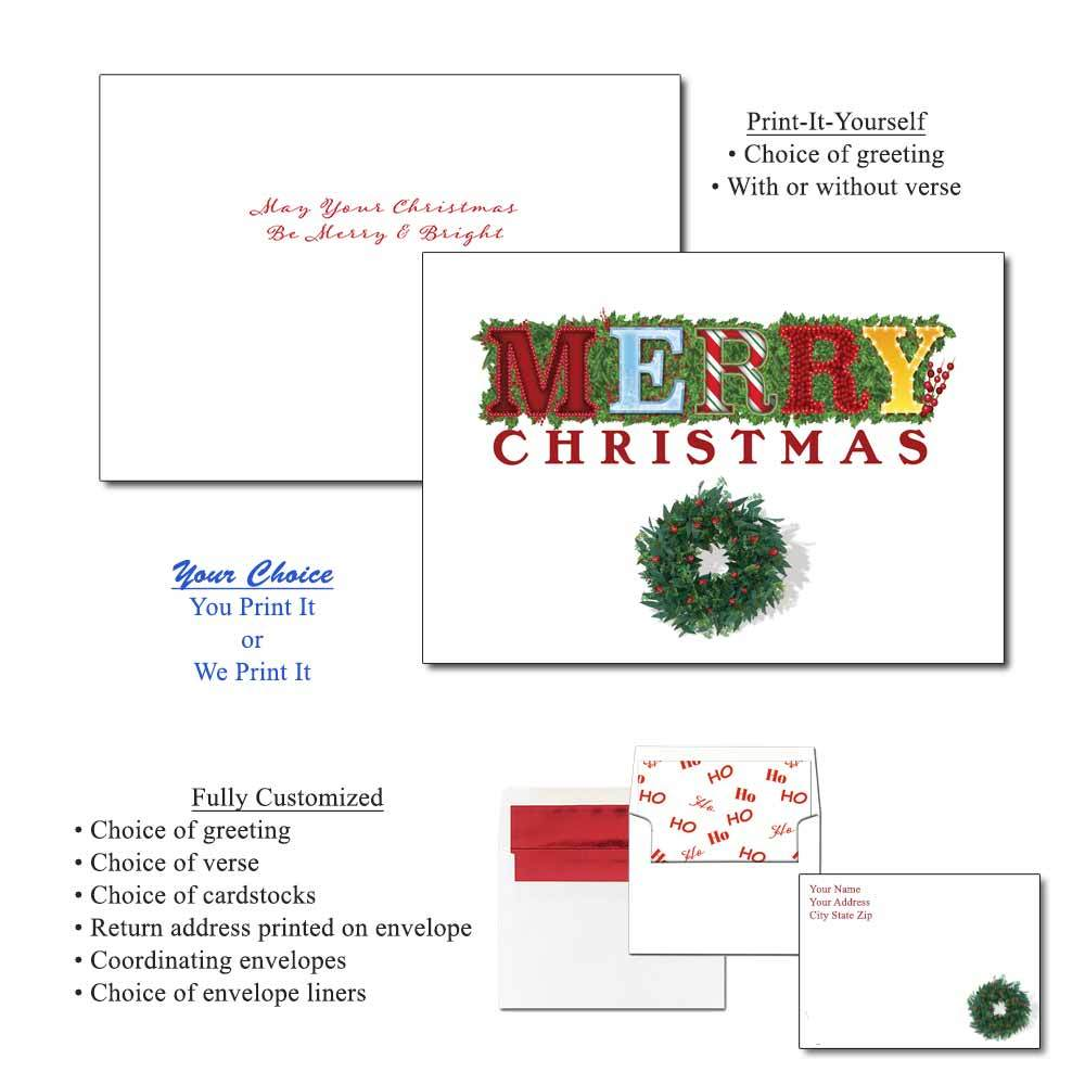 Merry Mashup Greeting Cards