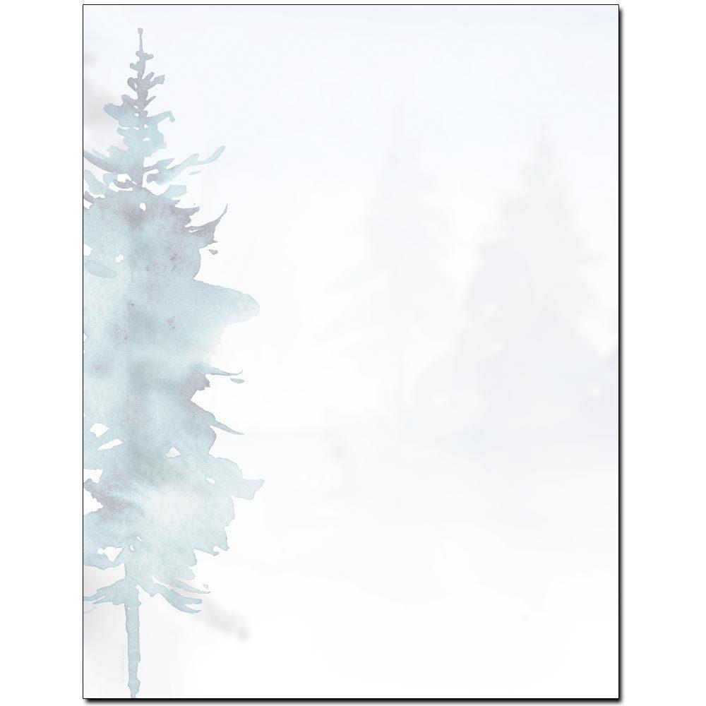 Misty Forest Letterhead