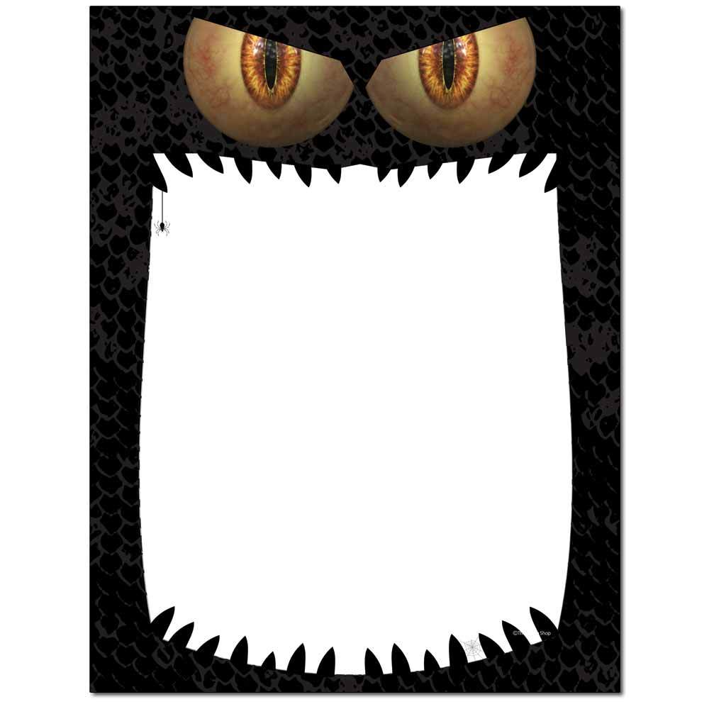 Monster Mouth Letterhead
