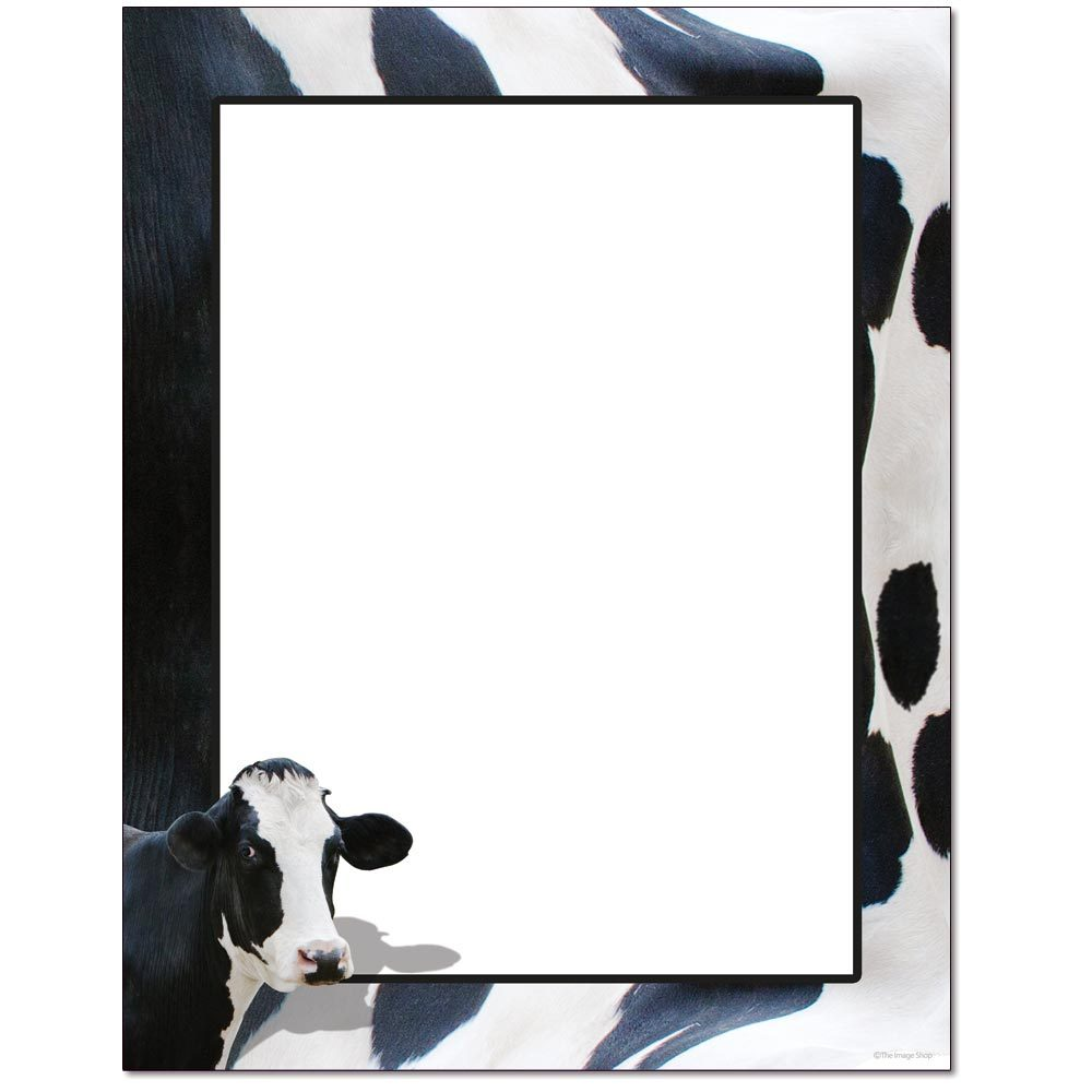 Moo Cow Letterhead