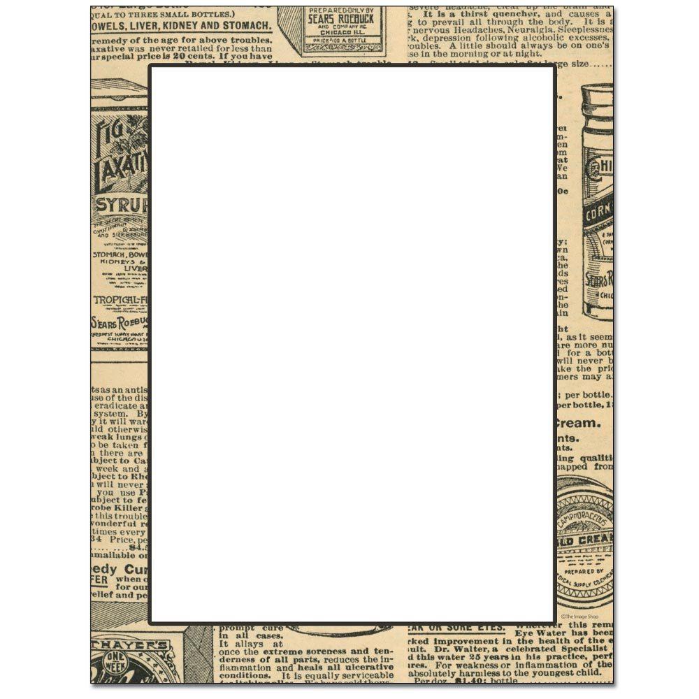 Old News Letterhead