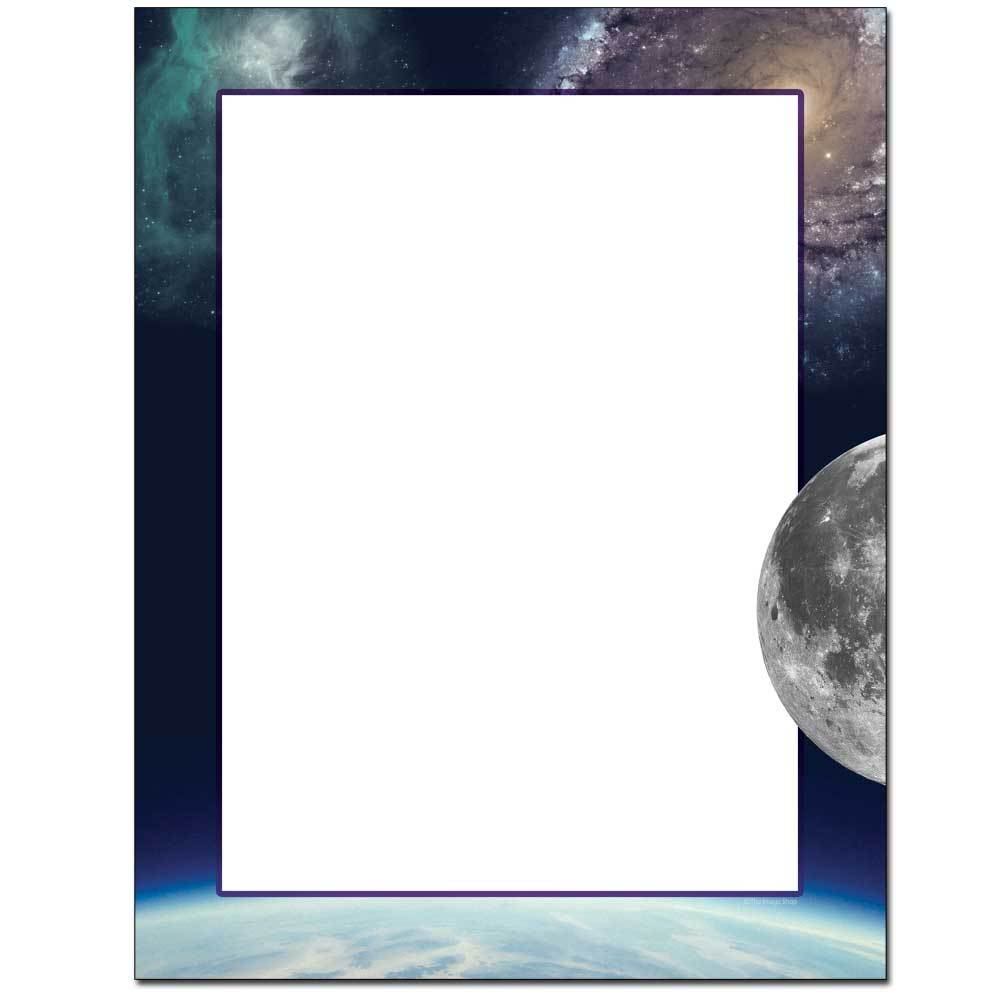 Out Of This World Letterhead