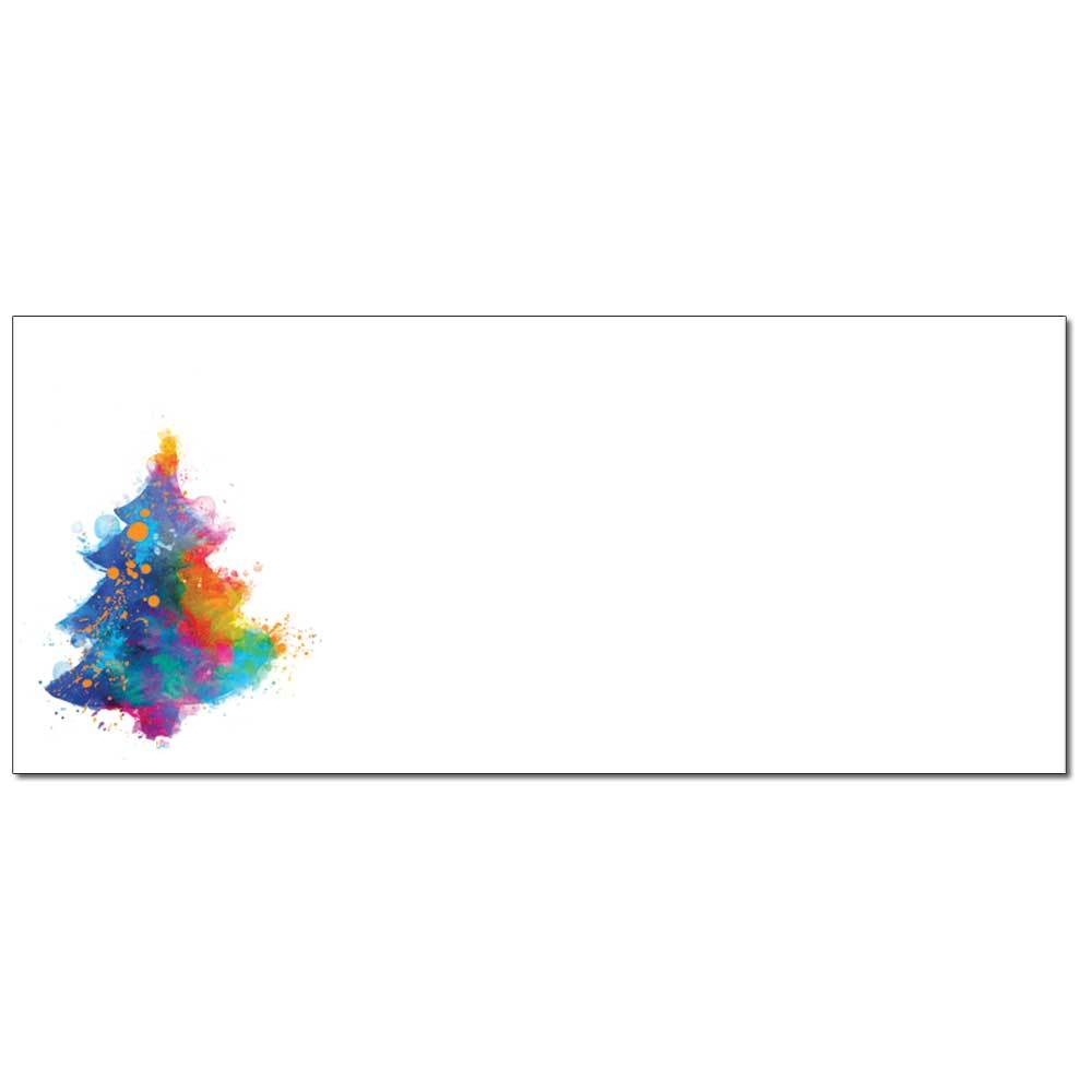 Painted Tree Envelopes
