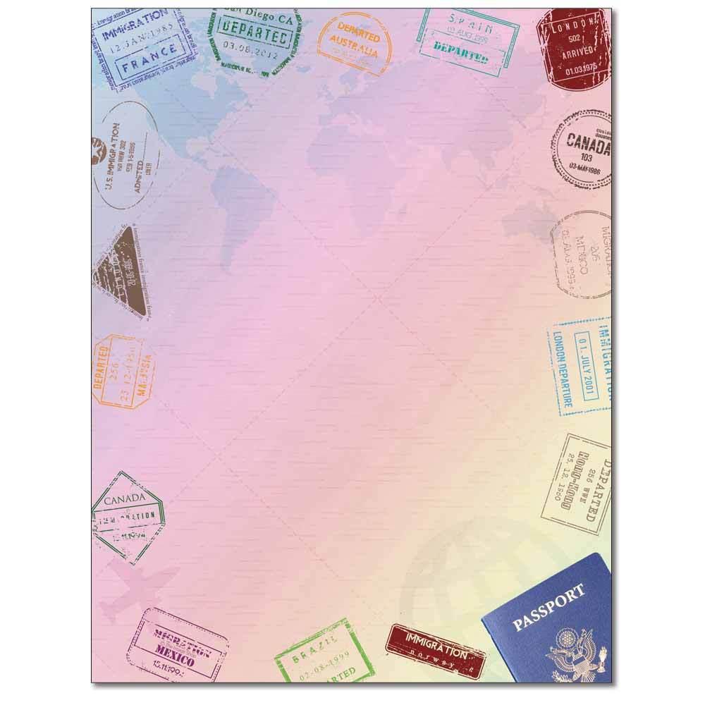 Passport Letterhead