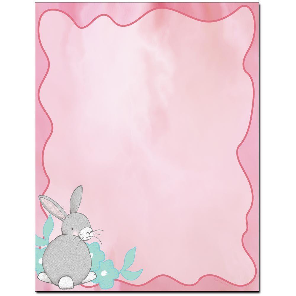 Pastel Bunny Letterhead