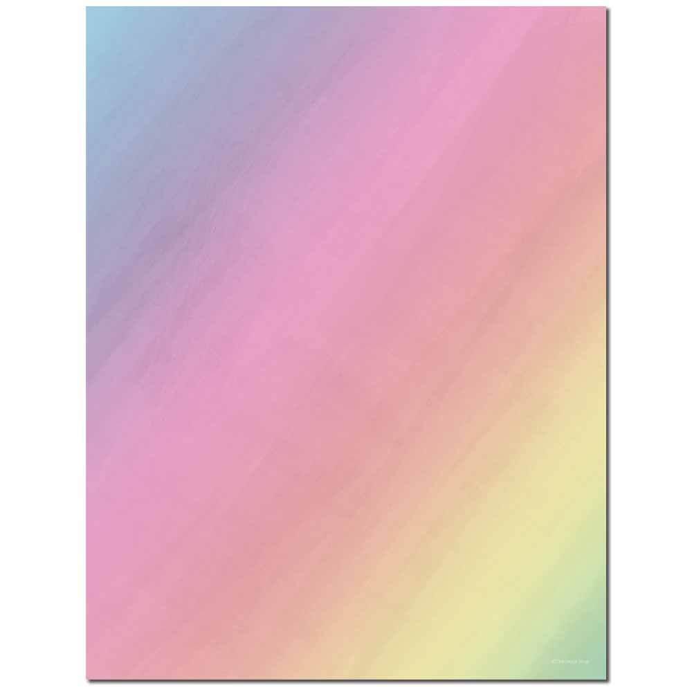 Pastel Prism Letterhead