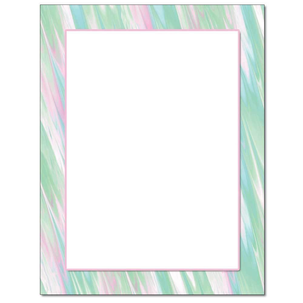 Pastel Sketch Letterhead