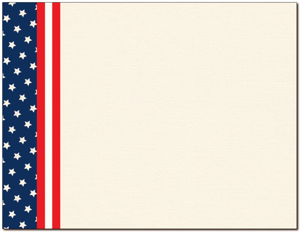 Patriotic Certificate