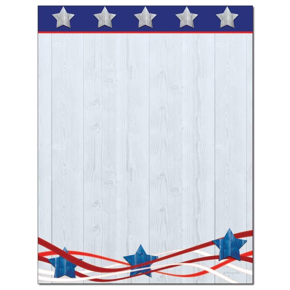 Patriotism Letterhead