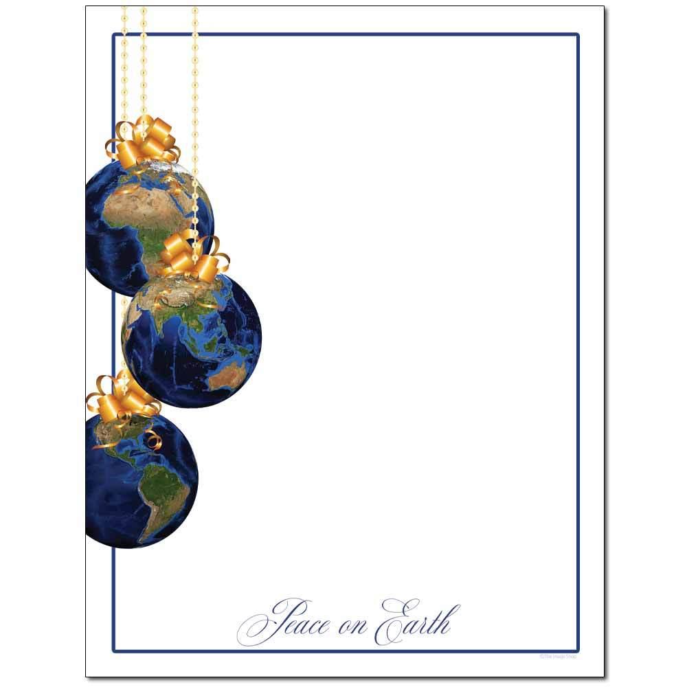 Peace On Earth Letterhead
