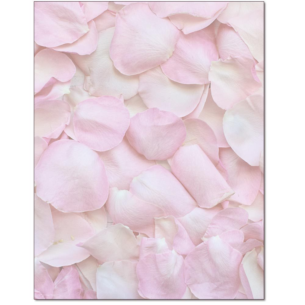 Petals Letterhead