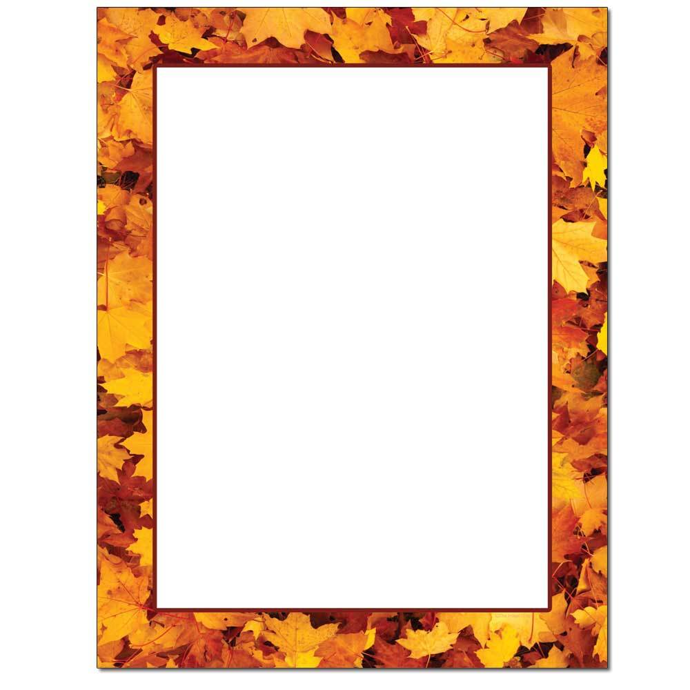 Pile of Leaves Letterhead