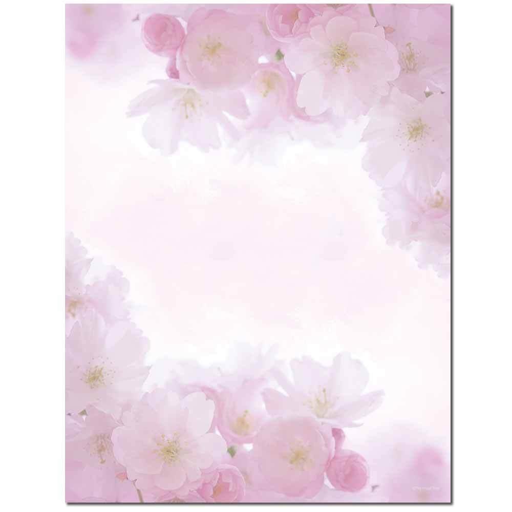 Pink Petals Letterhead