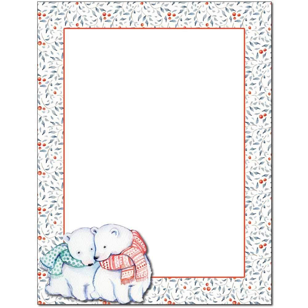 Polar Bears Letterhead
