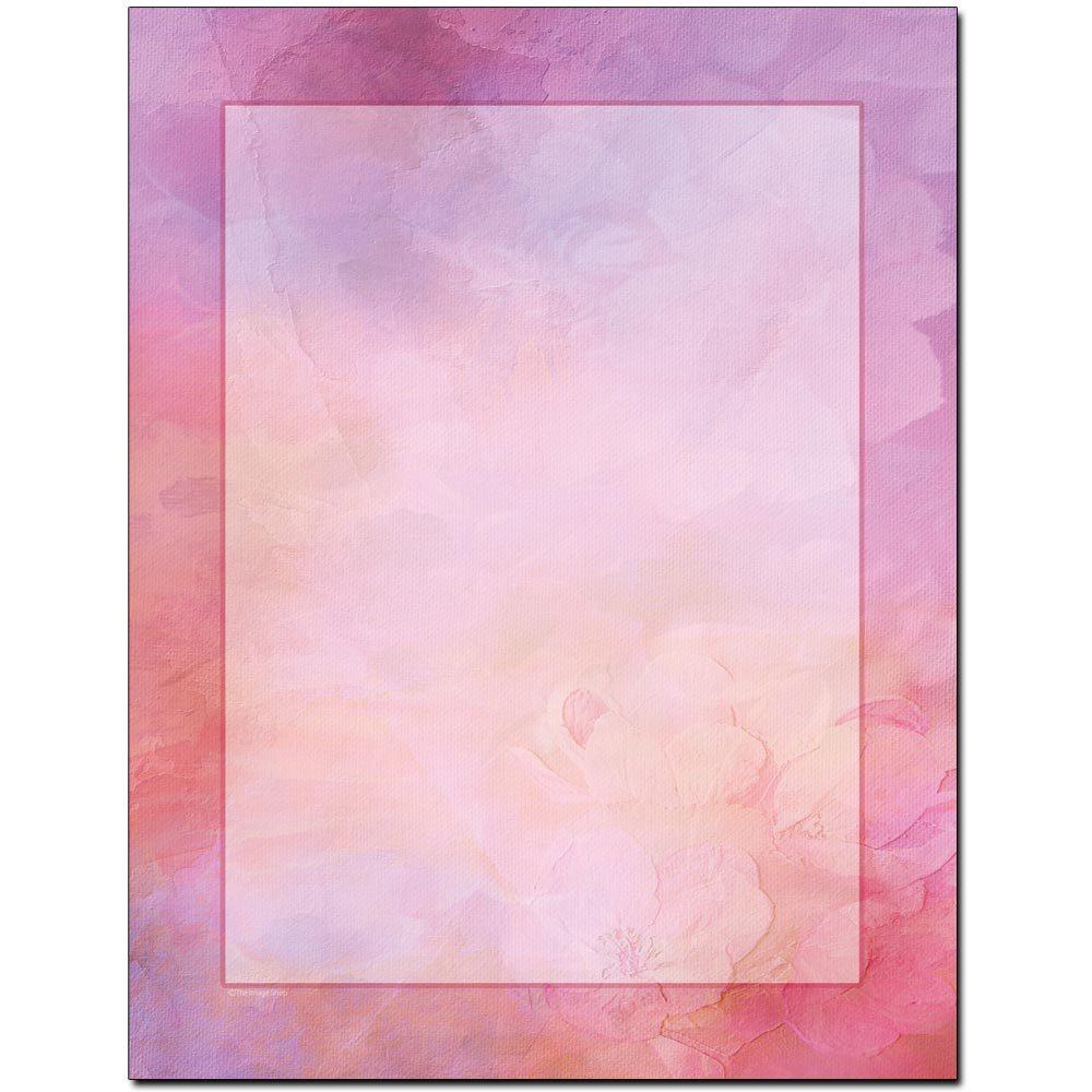 Pretty In Pink Letterhead