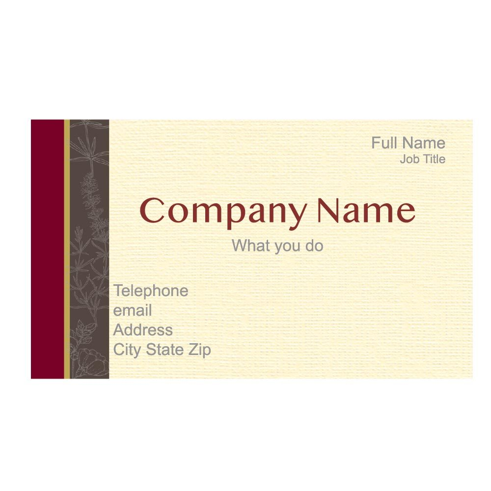 Provence Business Card