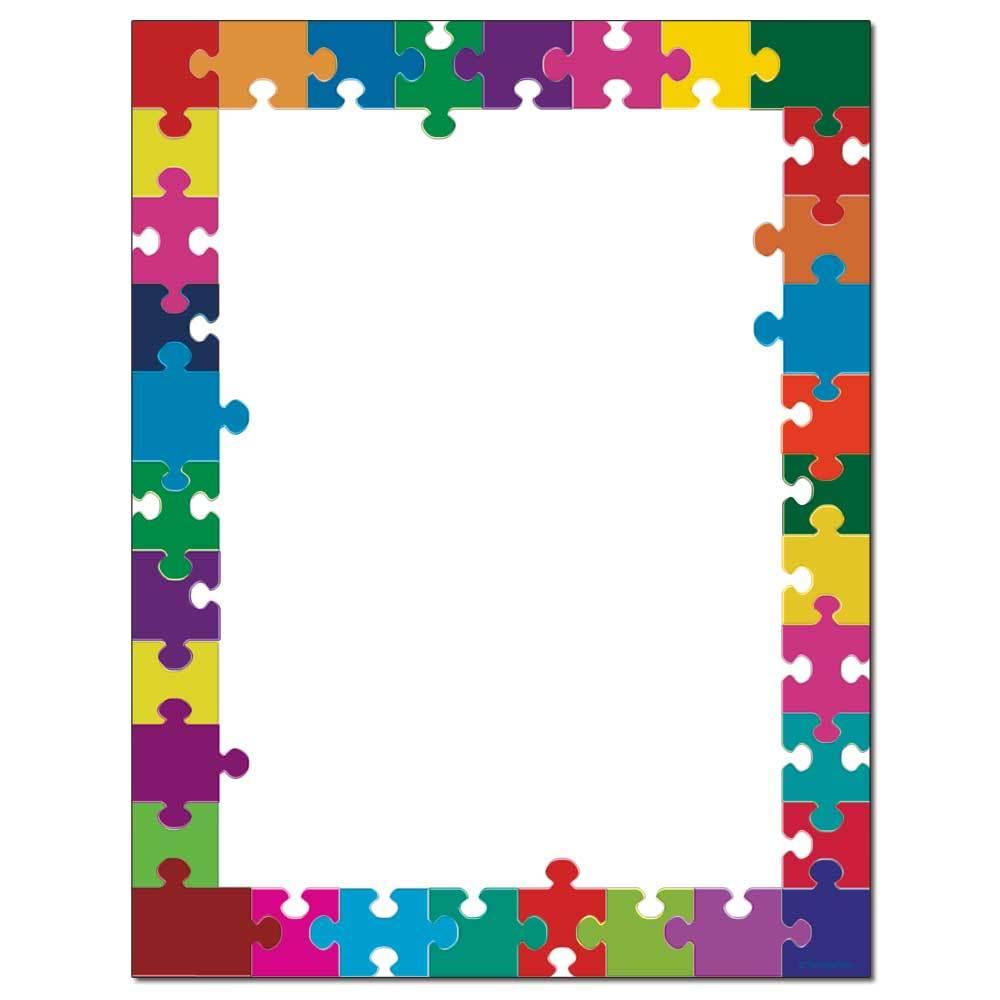 Puzzle Pieces Letterhead