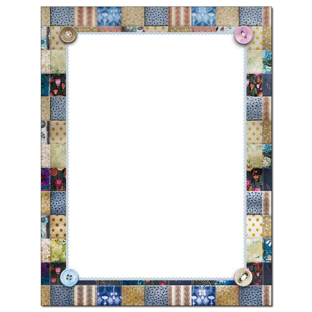 Quilted Letterhead