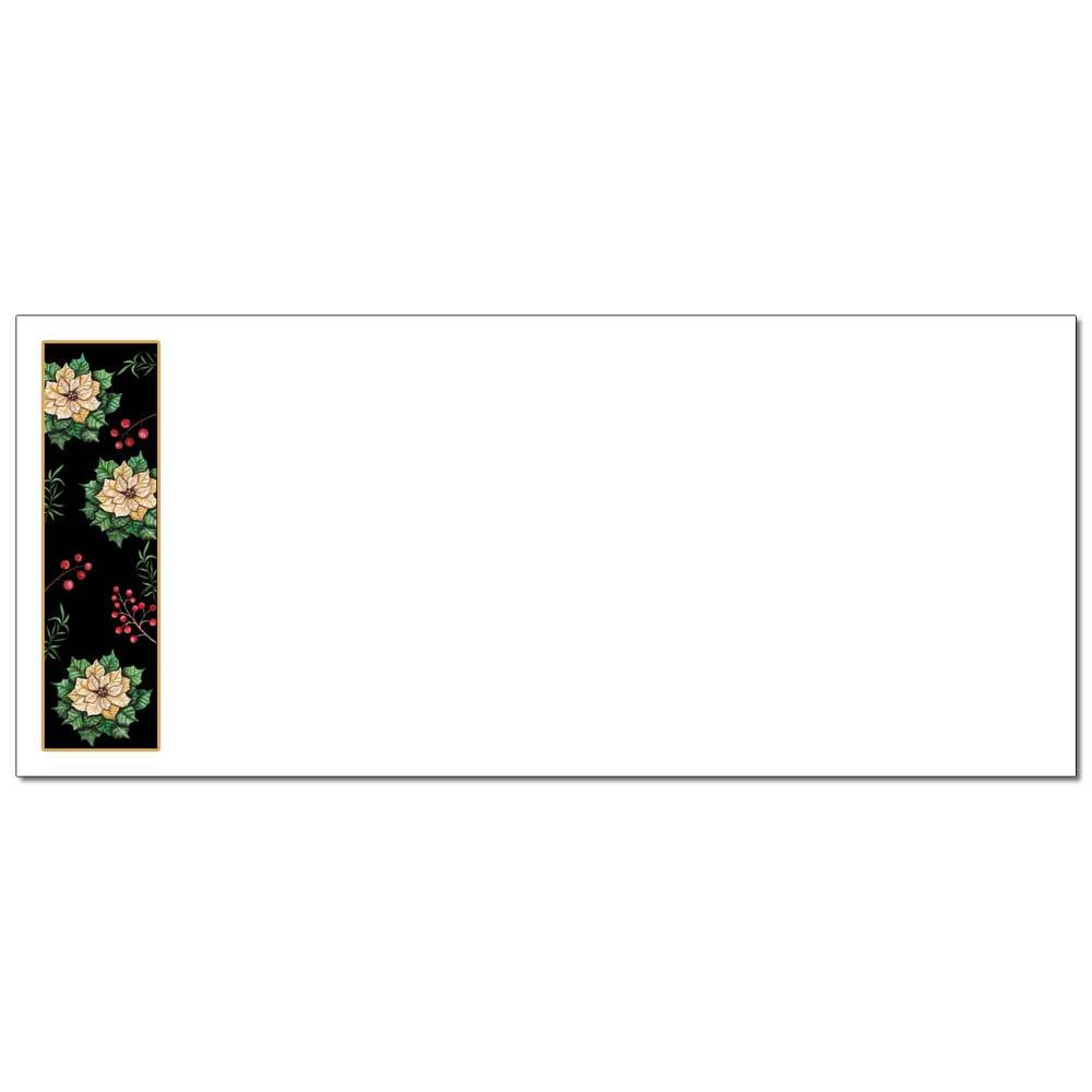 Royal Poinsettias Envelopes
