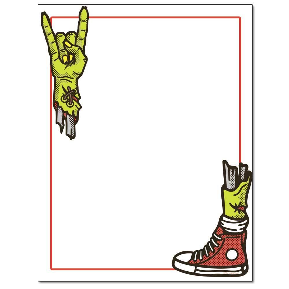 Rockin Zombie Letterhead