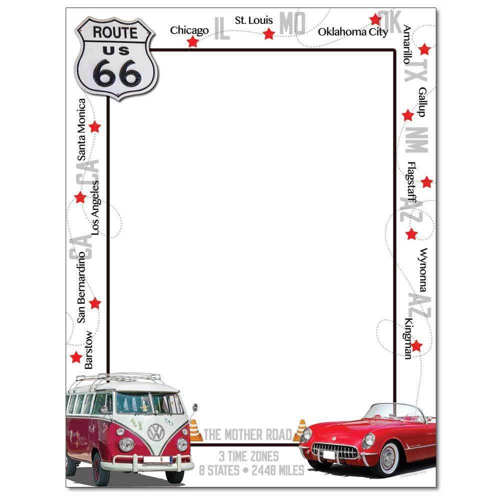 Route 66 Letterhead