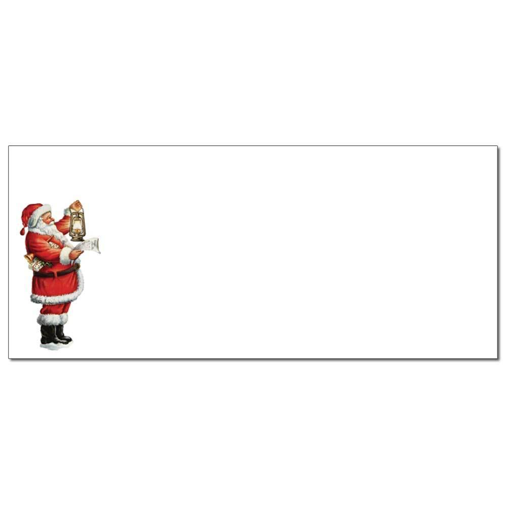 Santa's List Envelope